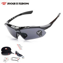 d64e166411 ROBESBON Mountain Road Bike gafas hombres mujeres UV400 proteger ciclismo  pesca correr gafas deportivas bicicleta gafas
