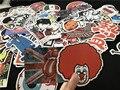 Stickers100 pcs venda hot mixed decoração styling laptop adesivos para moto skate rabisco brinquedo brinquedos adesivo