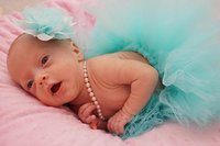 Aqua Groen Pasgeboren Baby Meisjes Fotografie Props Bloem Hoofdband Tutu Rok 2 stks Outfits Fotoshoot Studio Kleding