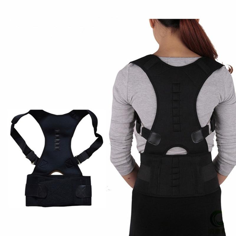 New Adjustible Magnetic Posture Corrector Corset Back Brace Shoulder Lumbar Spine Support Belt Posture correction for Men Women 1