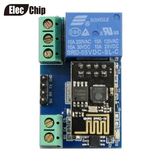 ESP8266 ESP-01S 5V WiFi Relaismodul Toi App CONTROLED für Smart Home