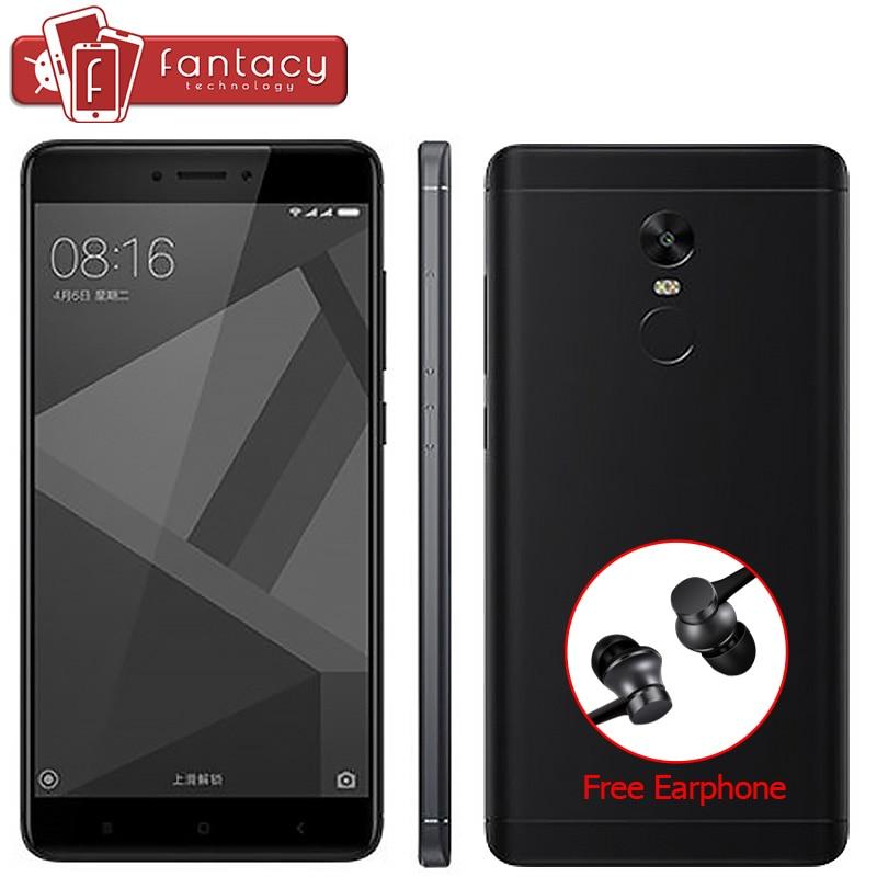 """Цена за Глобальный версия xiaomi redmi note 4 4 ГБ 64 ГБ qualcom snapdragon 625 13mp смартфон отпечатков пальцев id 5.5 """"FHD MIUI 8.1 CE ОТА"""