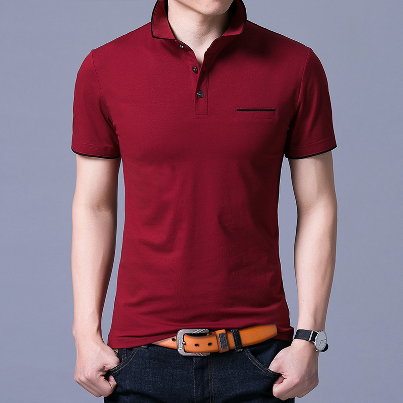 MRMT 2018 Brand New Spring and Summer Men's Short Sleeved   Polo   Shirts Pure Cotton   Polo   Shirt for Male Tops   Polo   Shirts