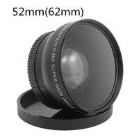 52MM 0 45X Wide Angle Lens Macro Lens Bag For Nikon D5000 D5100 D3100 D7000 D3200