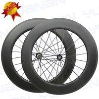 3 Years Warranty Cheap Roab Bike Race Cycling Parts Carbon Oem Wheels 88mm Depth Carbon Clincher