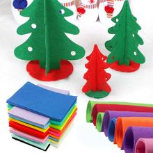 Christmas войлок нетканые смешанный craft полиэстер толстые рукав ткань дома шт./компл.