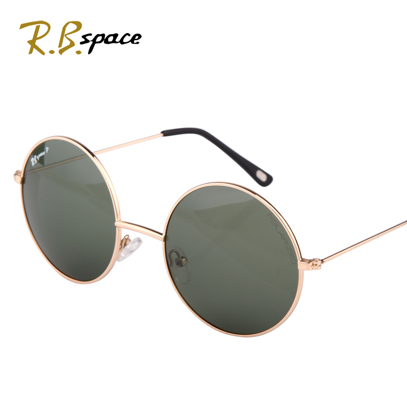 RBspace 2017 Round box vintage sunglasses font b polarized b font sunglasses font b fashion b