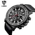 LIEBIG 1016 Homens De Quartzo Relógios De Pulso Marca de Luxo completa de aço inoxidável Assista Homens de Negócios Casual Relógios de quartzo Relógios Militares