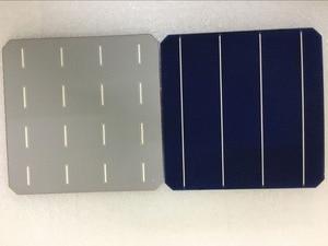 Image 2 - 40 قطعة 5 واط/قطعة خلية شمسية أحادية البلورية 156.75*156.75 مللي متر لتقوم بها بنفسك لوحة شمسية أحادية الضوئية