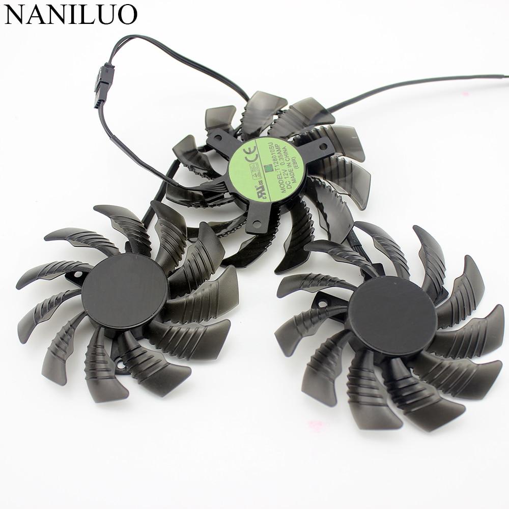 12V Graphics Card 4Pin Cooling Fan For Gigabyte GTX1050 1060 1070 1080 N960 N970
