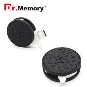 Image 3 - Funny USB Flash Drives 16GB Chocolate Cookies Cute Pendrive 64GB 8GB Memory Stick Pen Drive 32GB I Flash Disk 4GB Storage Device