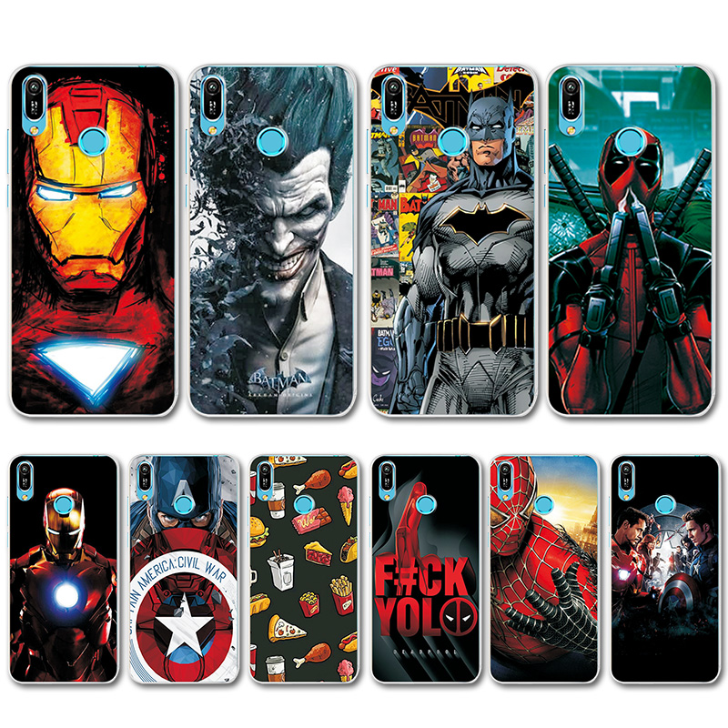 Novelty Phone Bags For Huawei Y5 Lite 2018 Case For Huawei Y5lite Iron Man Case Cover For Huawei Y5 Prime 2018 Y5 Lite 2018 Capa Cellphones & Telecommunications