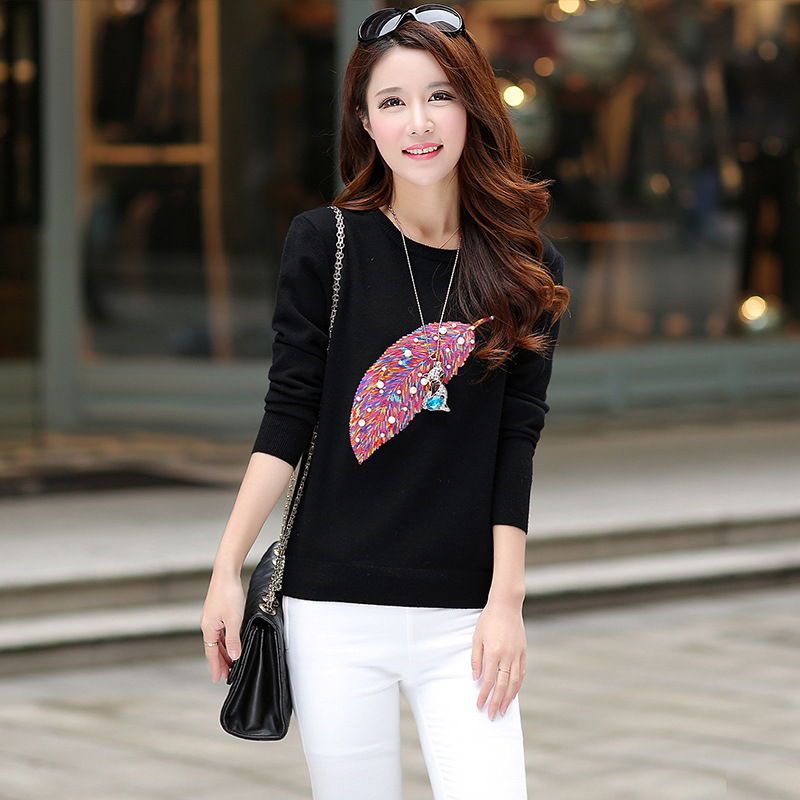 Hot Sale Autumn Winter Fancy Design Pearls Decorate Young Girls