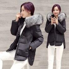 Специальное предложение в длинный участок Корейский хлопок женский размер хлопок блузка толстая куртка