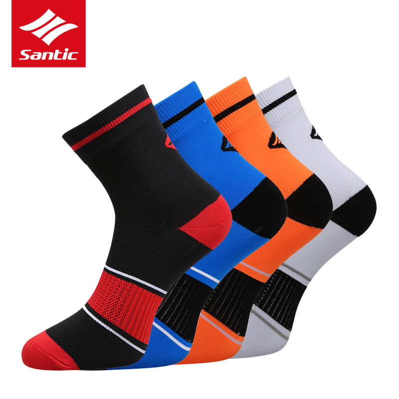 SANTIC Professional Cycling Bicycle Shoes Sock Cover Breathable Running Riding MTB Road Bike Sport Shoes Cover Bicycle Equipment