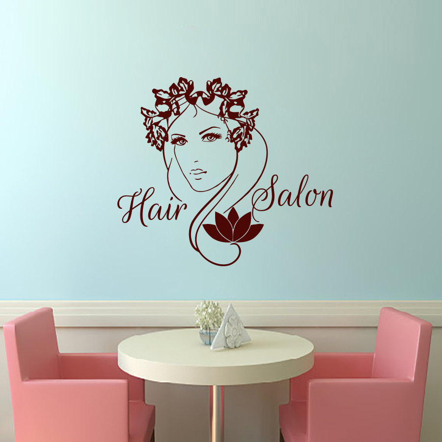 Hair Salon Wall Decor online get cheap hair salon wall decorations -aliexpress