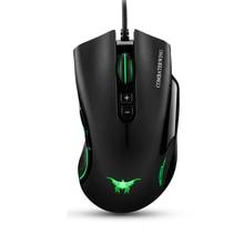 Wired Gaming Mouse Für Laptop PC Computer-peripheriegeräte, 4800 DPI Einstellbar 7 Tasten Gamer Mäuse Mit Atmung Licht