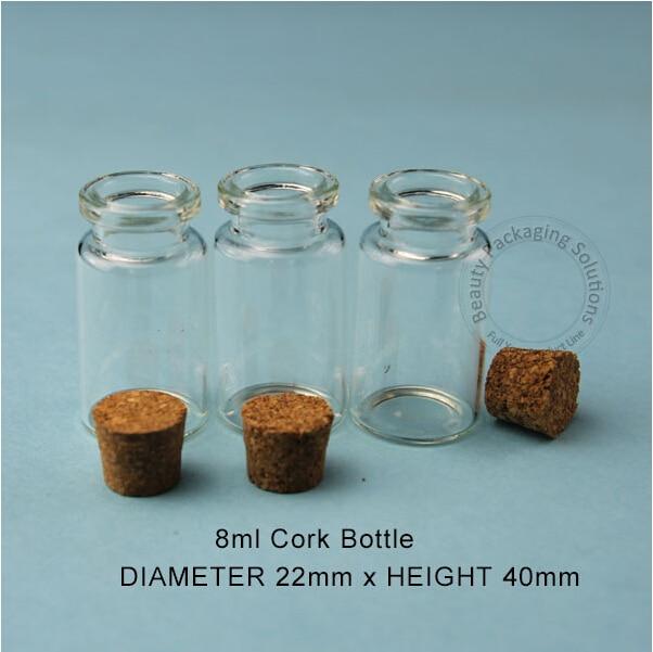 40pcsLot Wholesale 40ml Small Glass Bottles Vials Jars With Cork Amazing Small Decorative Bottles Wholesale
