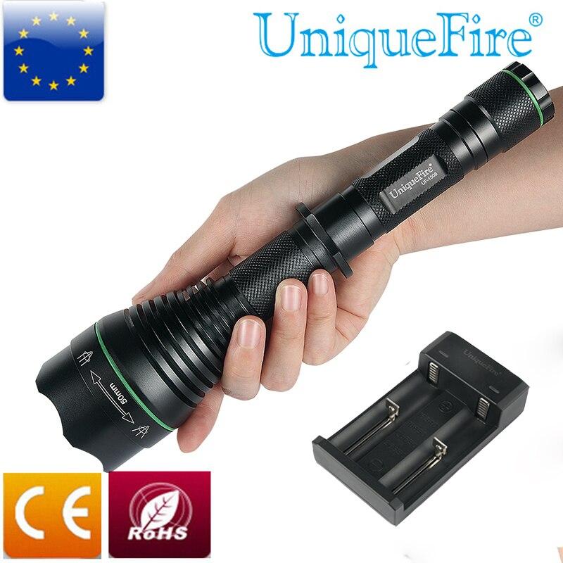 Q5 7 W 300 Lm Zoomable DEL Lampe de Poche Torche AJUSTABLE Focus Lampe rlts