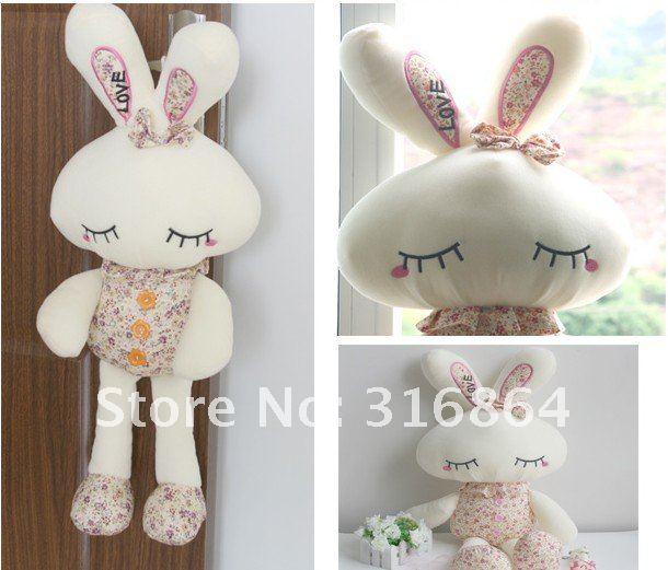 Оптовые и розничные продажи 28 см Плюшевые игрушки кролика мягкие игрушки Рождество подарок поставка фабрики