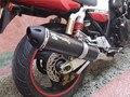 Universal Modified Motorbike Muffler Exhaust Pipe For HONDA CB400 For YAMAHA r6 For SUZUKI k6 k7 k8 k9 With DB Killer Sticker