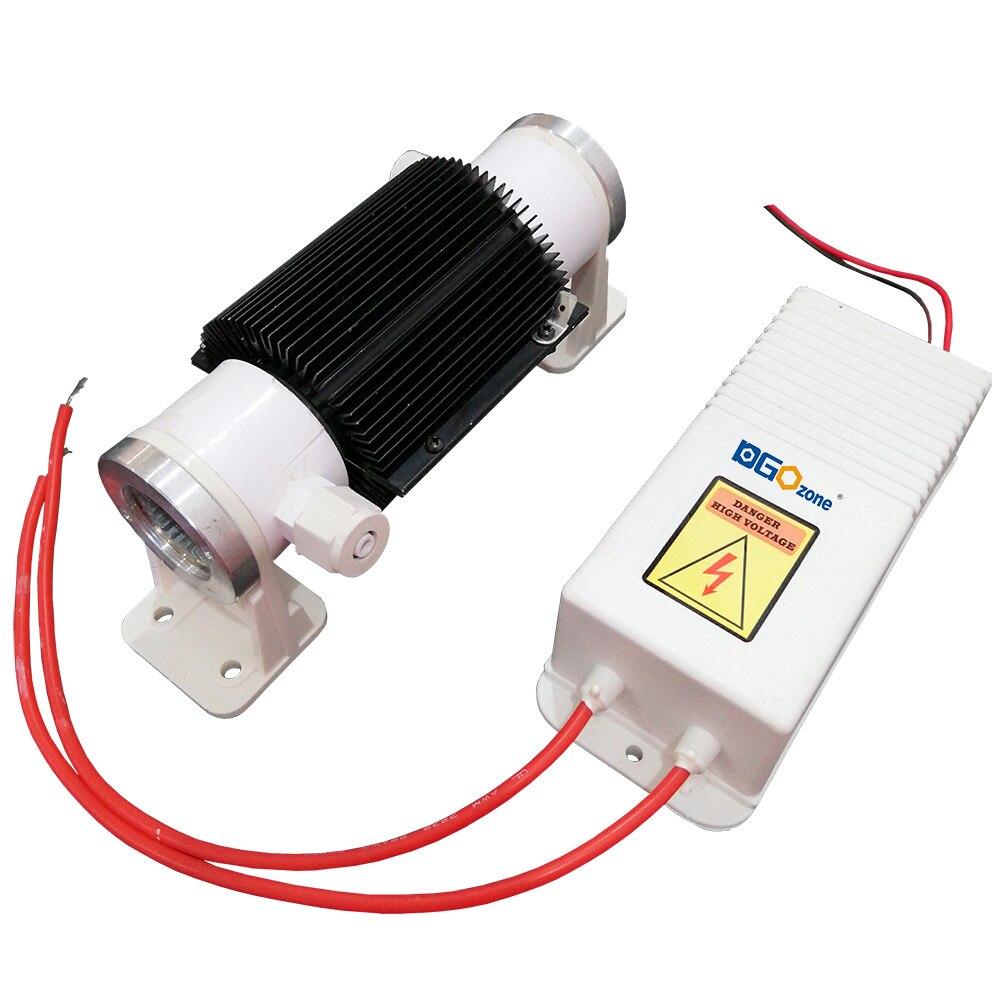 Livraison gratuite 5 g/h générateur d'ozone portable pour l'air et l'eau purificateur d'ozone piscine générateur d'ozone médical