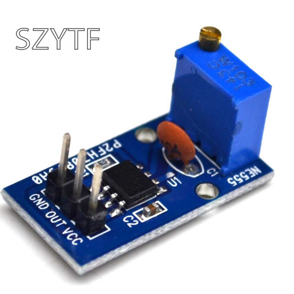 NE555 adjustable pulse output module FOR car stopwatch device/mileage  booster for Arduino UNO