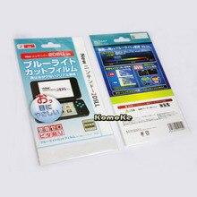 2in1 верхней и нижней HD ясно Защитная Плёнки поверхности гвардии Обложка для Nintendo Новый 2DS xl/LL 2 dsxl/ 2 DSLL ЖК-дисплей Экран Protector кожи