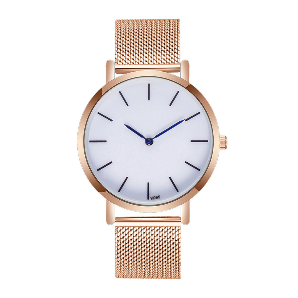Ladies Watch Gold Sliver Mesh Stainless Steel Watch Women Top Brand Luxury Casual Clock Women Watches  relogio feminino  19FEB21