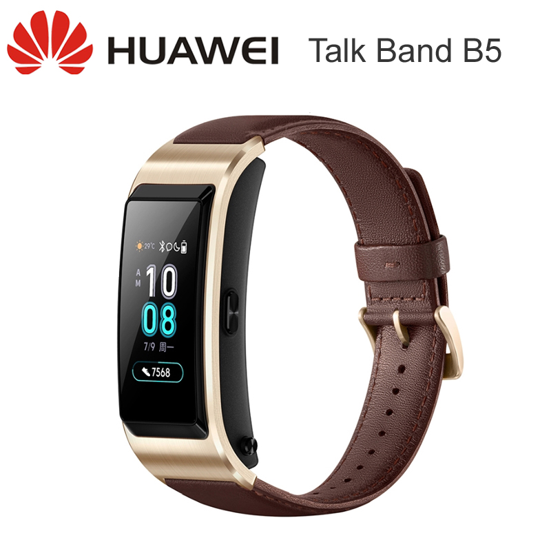 Huawei TalkBand B5 SmartBand Smart Bracelet Band Heart Rate Tracker Call with Bluetooth Headset Touch Screen
