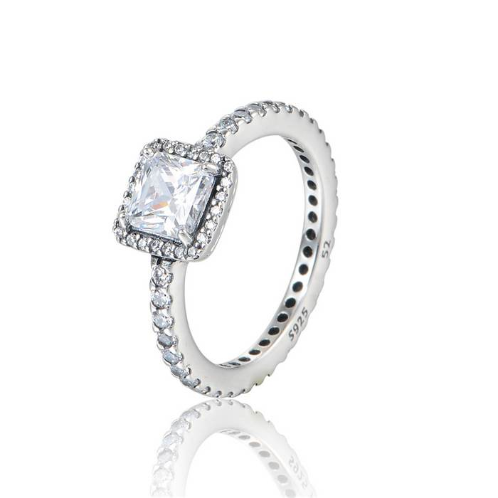New Timeless Elegance Ring With Cz Stone 925 Sterling ...