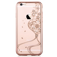 DEVIA For IPhone 6s Plus 6 Plus Case Crystals From Swarovski Diamond Rhinestone Plated Hard Shell