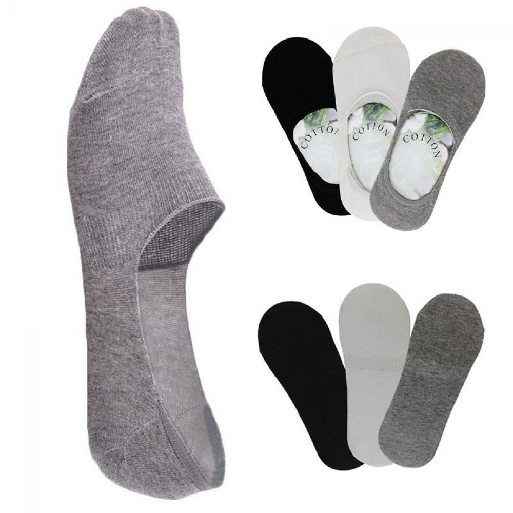 1 Paar Fashion Unisex Frauen Männer Loafer Boot Nicht-slip Unsichtbare Keine Zeigen Rutschfeste Liner Low Cut Weiche Atmungsaktive Baumwolle Kurze Socken