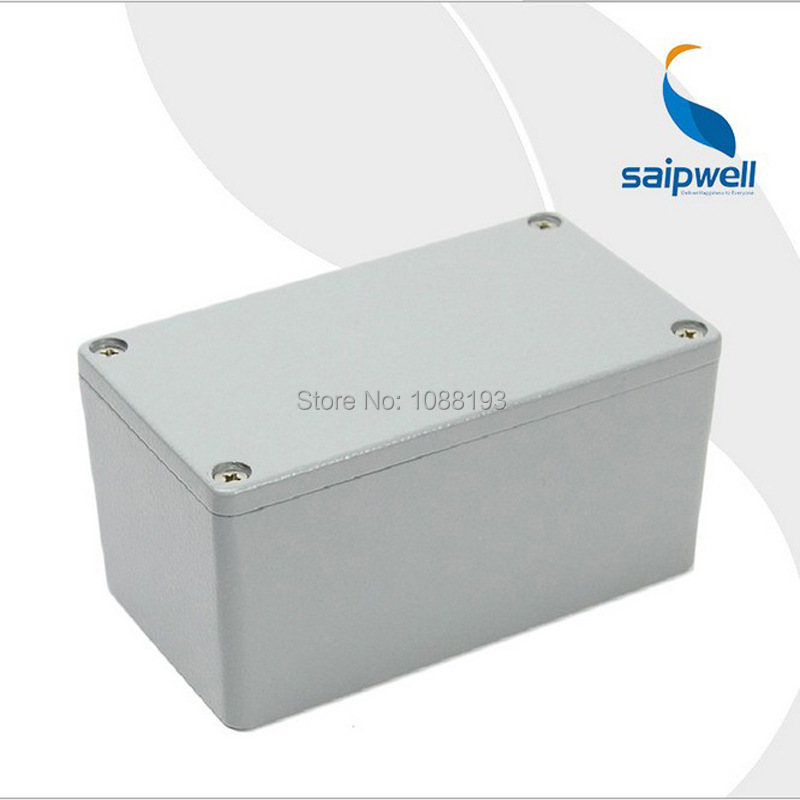 115 65 55mm CE Approved Aluminum Waterproof Box Enclosure for Electronics Waterproof Case SP AG FA24