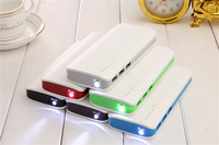 TOP Quality 20000mAh Universal Power Bank Triple USB Li Polymer Mobile Portable Battery Charger For Iphone