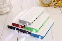 TOP Quality 20000mAh Universal Power Bank Triple USB Li Polymer Mobile Portable Battery Charger For Iphone