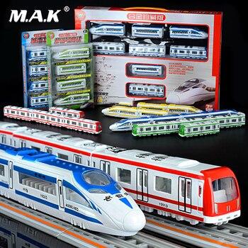 Con Coche Modelo Magnético Juguetes Harmony 44 Niños Aleación De Para Velocidad Cm Alta Metro Fuerte Autobús Trasero Diecast Tren H29YEDIW
