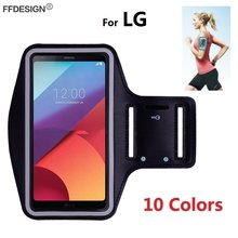 Arm band Running Sport Armband Phone Case voor LG G7 G8 ThinQ G6 G5 G4 G3 K11 K8 K10 2018 2017 K40 K50 Telefoon Bag Case Op Hand(China)