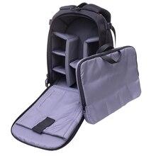 S l a prueba de agua bolsa de la cámara slr digital de fotos para canon nikon cámara de fotografía profesional dslr mochila multi-funcional bolsas