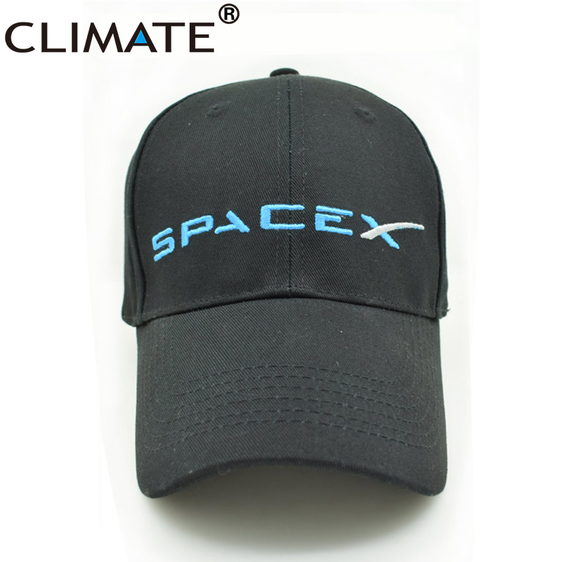 CLIMATE 2017 New U.S Hot Cool Spacex UFO Baseball Hat Caps Adult Men Women Outer Space Rocket Musk Fans Sport Active Cool Caps cotton fine hiphop luxury caps multi snapcap cool gorras unisex new active hat beautiful napback adult baseball yj6 h1