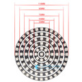 WS2812B 1 8 12 16 24 32 93 Bits LEDs 5050 RGB addressable ring round LED pixel Lamp Light with Integrated Drivers DC 5V