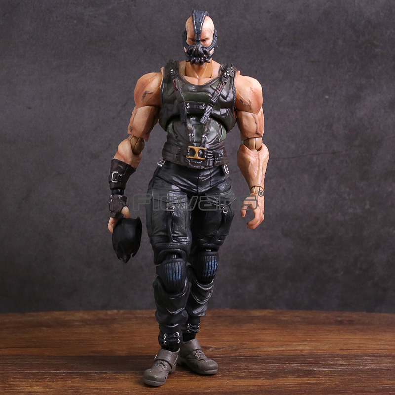 Play Arts Kai Batman The Dark Night NO.02 Bane PVC Action Figure Collectible Model Toy play arts kai kingdom hearts roxas pvc action figure collectible model toy