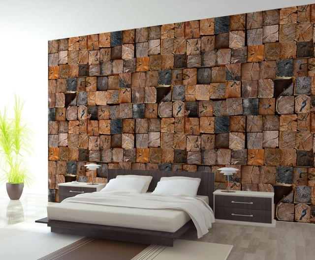 personnalis photo papier peint grand 3d canap tv fond d 39 cran mural mur creative bois 3d mural. Black Bedroom Furniture Sets. Home Design Ideas