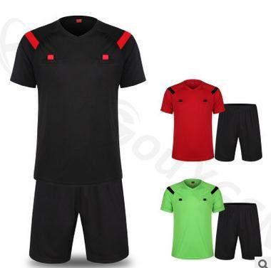 цена на Soccer Referee Jersey Judge Uniform Professional Soccer Referee Clothing Football Referee Jersey set sports training cloth set