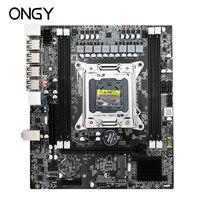 Ongy X79 4M Motherboard LGA 2011 i7 DDR3 Memory 32GB SATA VGA/HDMI X79 4M Main Board PCI E NVME M.2 Processor 32G ddr 3 Office