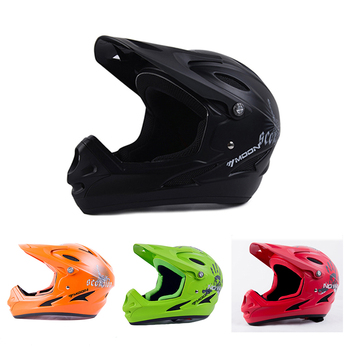 Adults bicycle helmet motocross Off road racing downhill bike full face MTB mountain helmet men women capacetes dot Mips approve фото