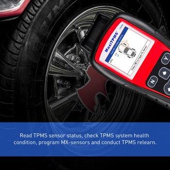 Autel MaxiTPMS TS508K Reifendruck TPMS Überwachung Werkzeug 4 PCS 433 MHZ + 4 PCS 315 MHZ Auto Diagnose Werkzeug Automotive System Scanner