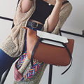 Горячая Продажа 2017 Новый Обвал Моды Хит Цвет Крылья Мешок Корейских женщин Сумка Случайные Сумки Плеча Сумку Ремень Цвет