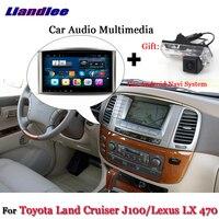 Liandlee автомобиля Android Системы для Toyota Land Cruiser LC100 J100/для Lexus LX 470 радио gps Nav навигационная карта Экран мультимедиа