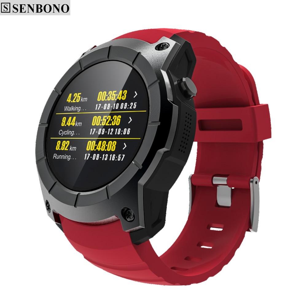 SENBONO GPS Sportuhr S958 MTK2503 pulsmesser Smartwatch multi sport modell smart uhr für Android IOS telefon-in Smart Watches aus Verbraucherelektronik bei AliExpress - 11.11_Doppel-11Tag der Singles 1